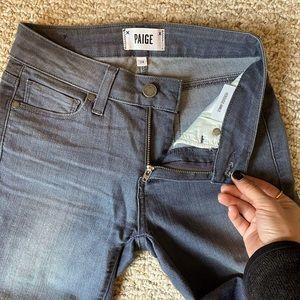 PAIGE Verdugo Ankle Jeans - Barre Grey